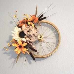 Fall Wheel Wreath